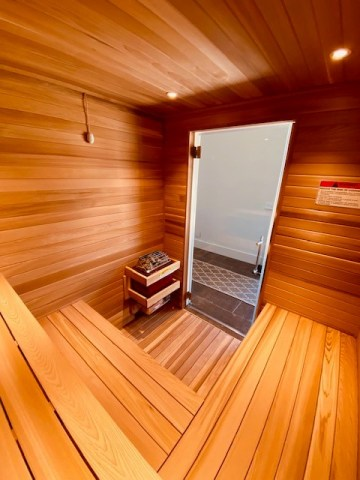 Narrower dimensions of Western Red Cedar is our recommendation for using in saunas to reduce cupping and warping