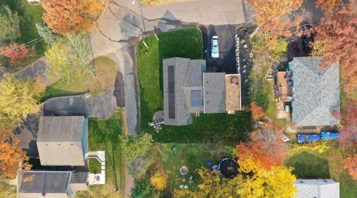 GreenHalo Builds Homes- EcoRidge Development - MN Solar Installation - Cedar Creek Energy
