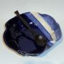 Hilborn Pottery's Brie Baker in Indigo