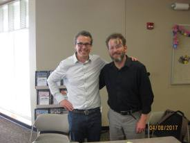 Authors Eric Litwin and Patrick Jennings