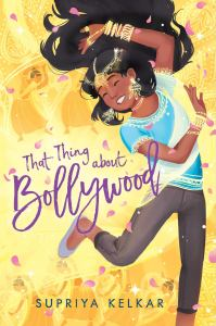 That Thing About Bollywood Cover Art: Indian girl dancing