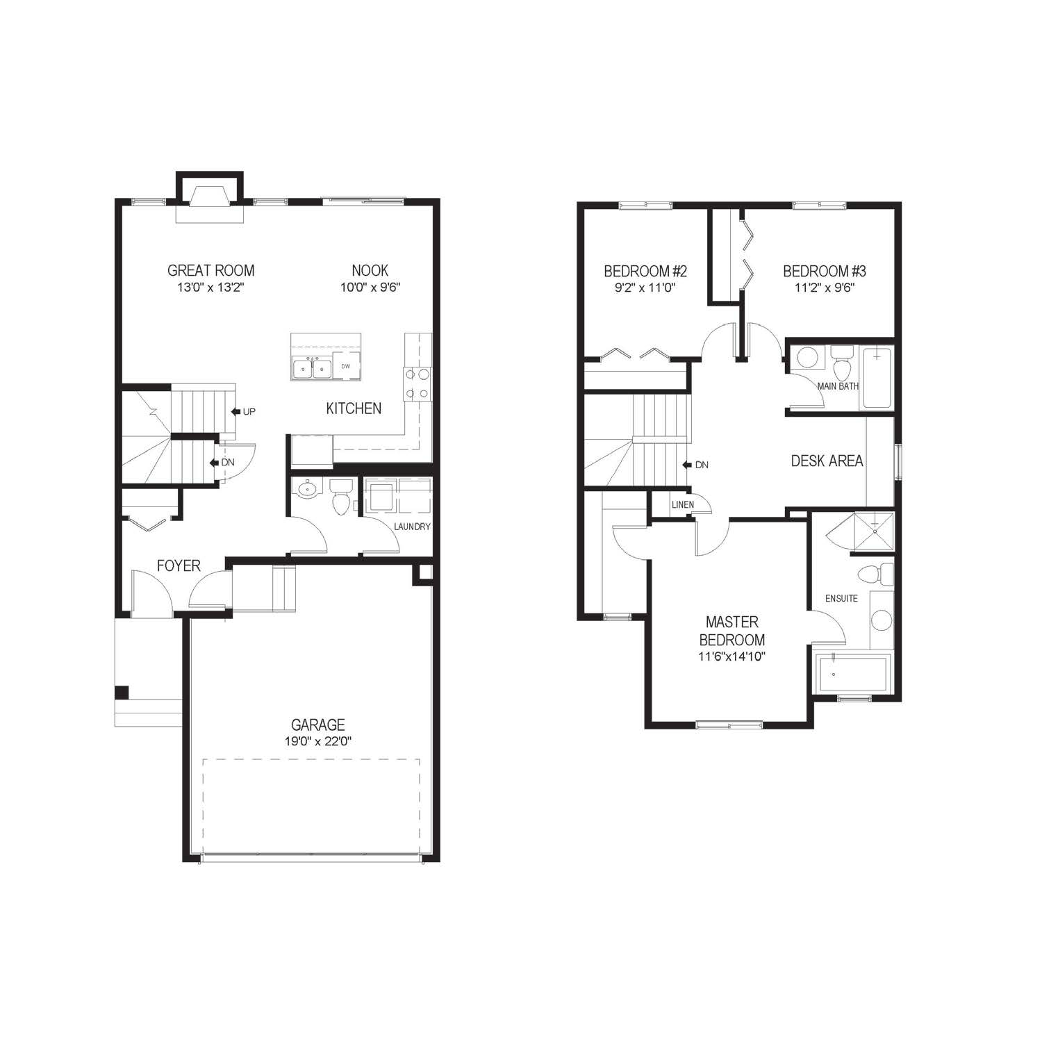 The Warner; 1566 Sq. Ft. of Thoughtfully Designed Space