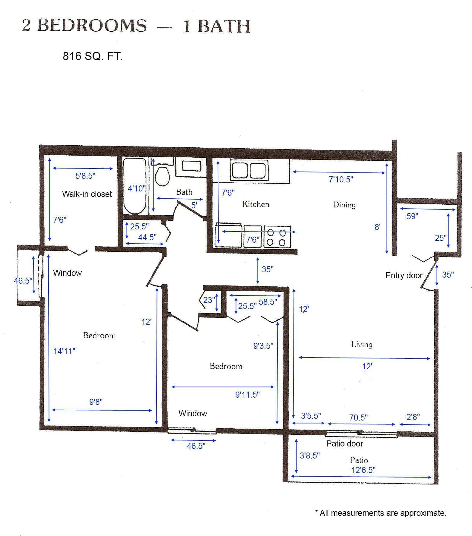 Cedar Green Apartments  Apartment Layouts