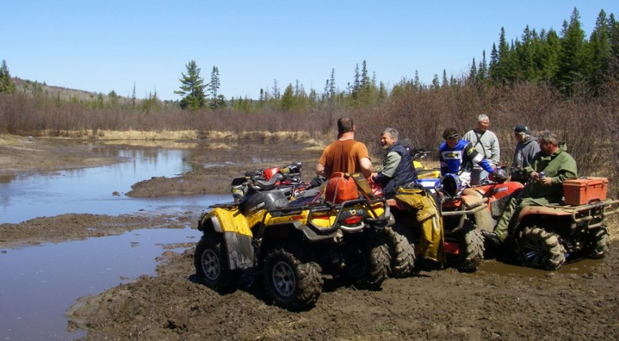 Cedar Grove Camp has ATV trails and day-trips are available.