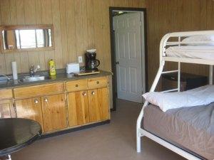 Cozy Camper cottage living area