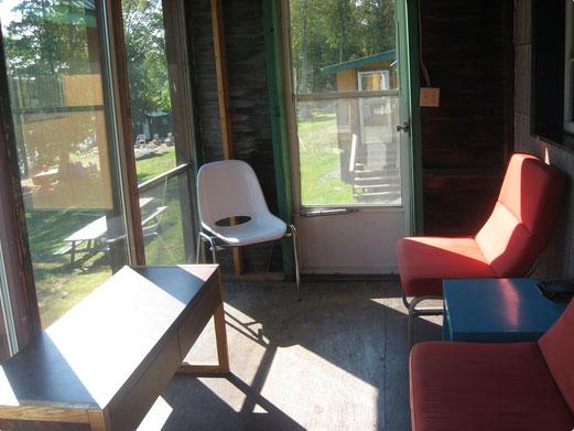 Perfect Perch cottage porch