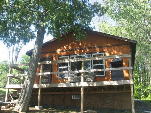 Simple Serenity cottage at Cedar Grove Camp