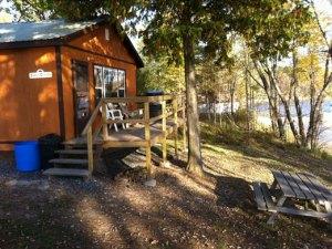 Simple Serenity cottage deck