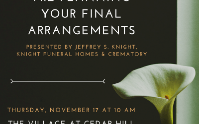 "Free Seminar ""Pre-Planning Your Final Arrangements"""
