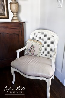 French Chairs - Thrift Store Redo Cedar Hill Farmhouse
