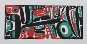 Salmon, Mark Preston, Native Art, Aboriginal, Indigenous, Northwest Coast, First Nations, Native American