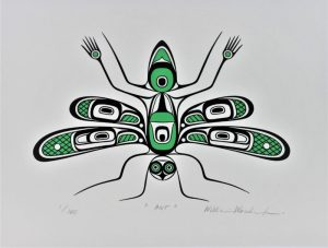 Ant, William Wasden Jr., Native Art, Limited Edition Screen Print, Serigraph