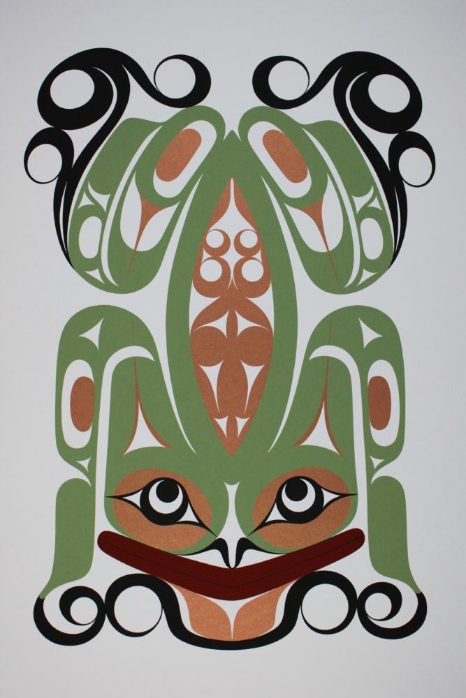 Limited edition print of Frog by Francis Dick
