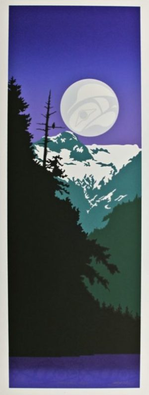 Mountain Eagle, Native Print, Roy Henry Vickers