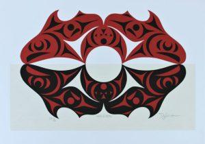 Horizons, Dylan Thomas, Native Art Print, Indigenous Art, Northwest Coast Art, First Nations Art, Native American Art