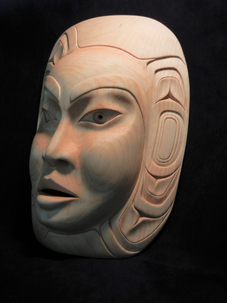 Moon Mask, Carol Young, Haida