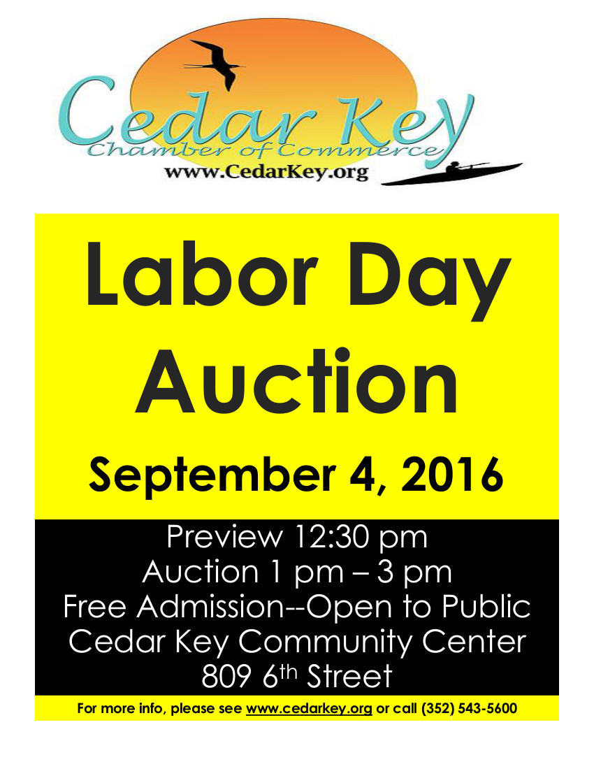 AUG 23 Labor Day Auction Chamber