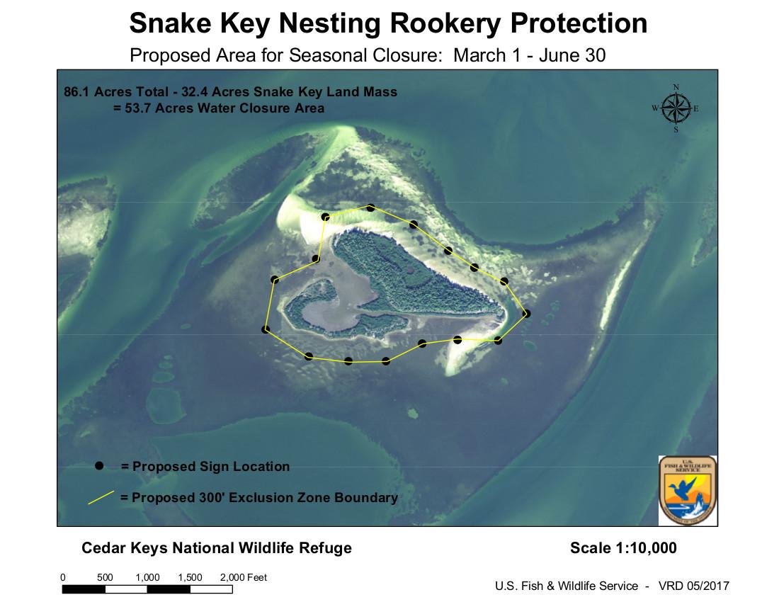 JAN 10 USFWS Proposed Snake Key Rookery Closure