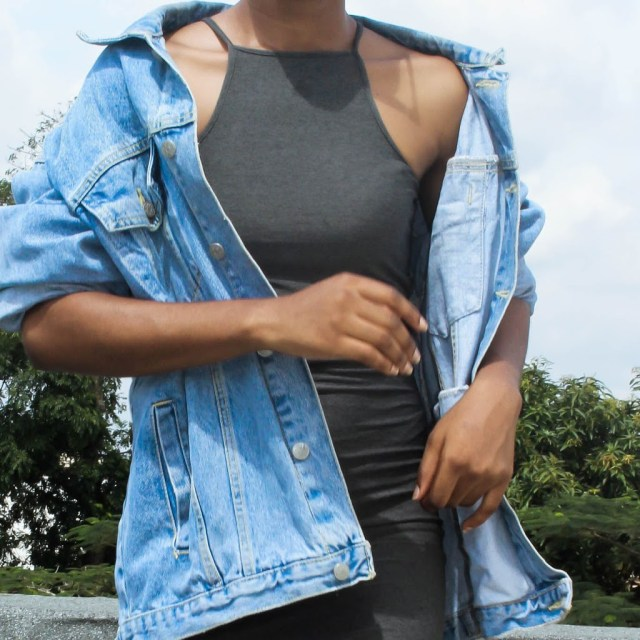 how to style denim jeans jacket