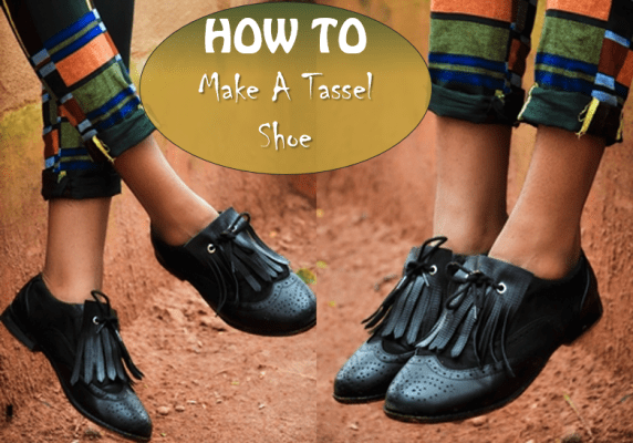 shoe repair replacement tassel, how to make a fringe shoe