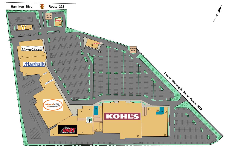 Trexlertown Pa Trexler Mall  Retail Space For Lease