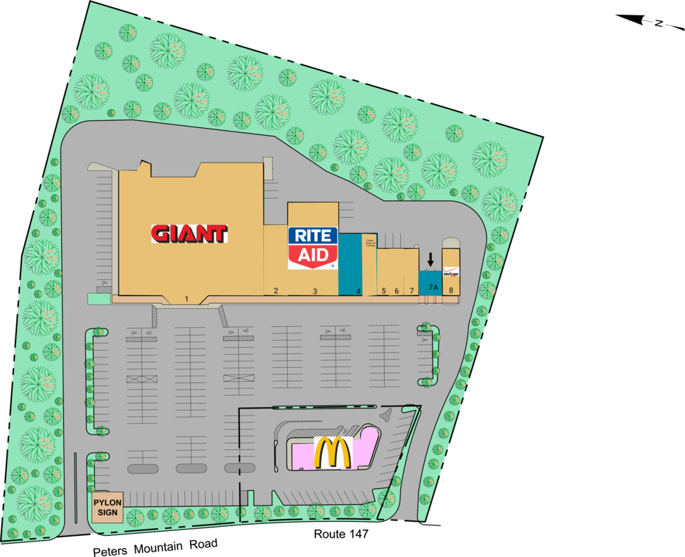 Halifax Pa Halifax Plaza  Retail Space For Lease  Cedar