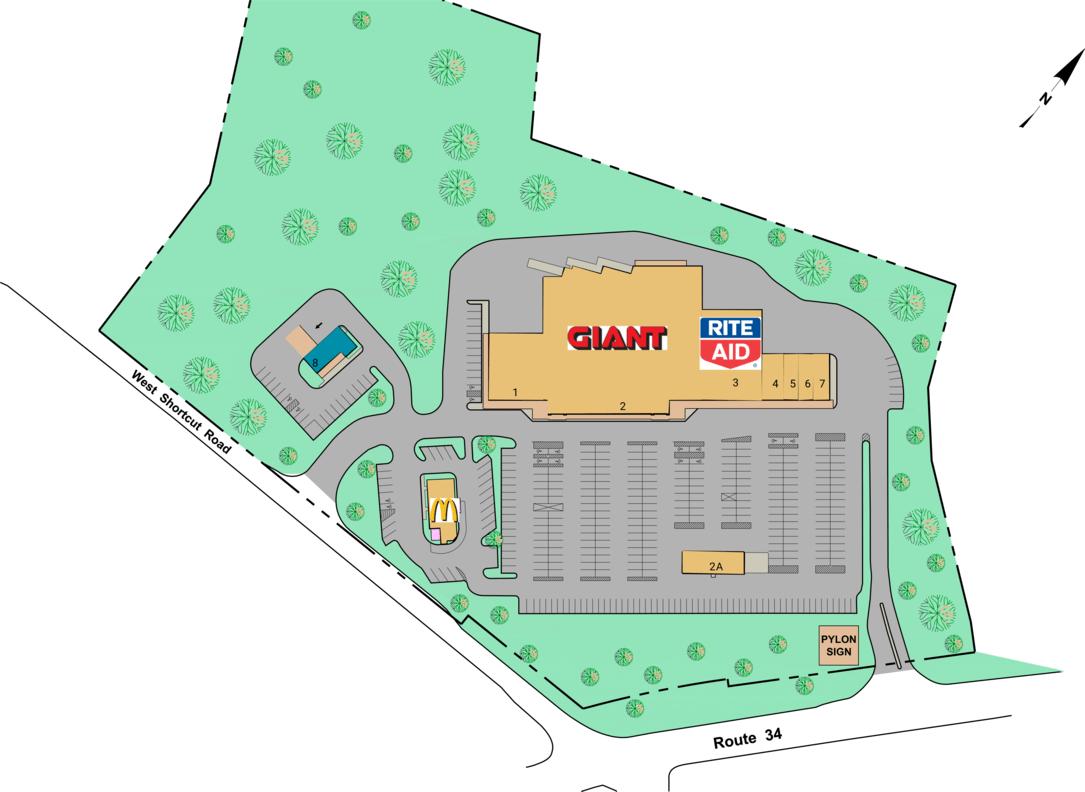 Newport Pa Newport Plaza  Retail Space For Lease  Cedar