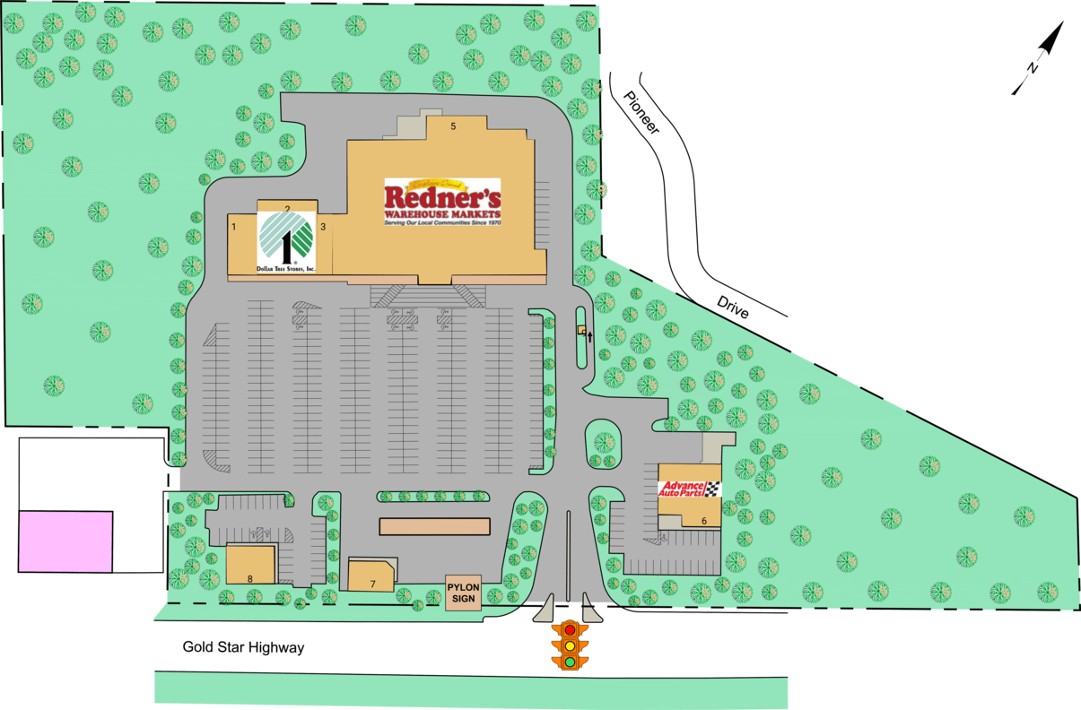 Shenandoah Pa Gold Star Plaza  Retail Space For Lease