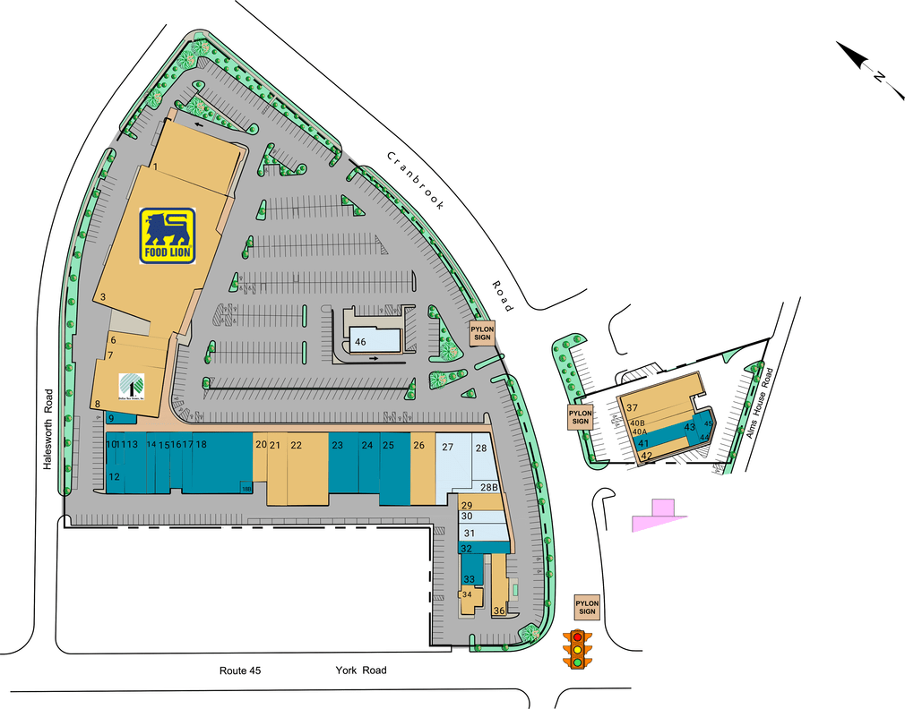 Cockeysville Md Yorktowne Plaza  Retail Space For Lease