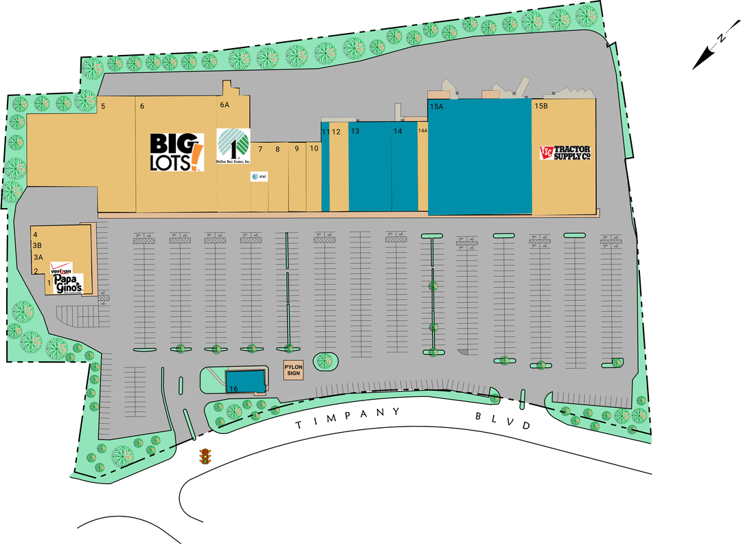 Gardner Ma Timpany Plaza  Retail Space For Lease  Cedar