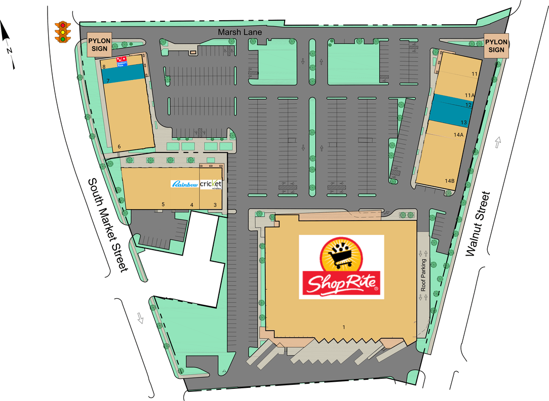 Wilmington De Christina Crossing  Retail Space For Lease
