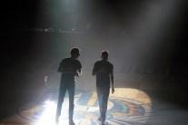 Parker McGoldrick and Josh Thifault host Moonlight Madness on Saturday, Nov. 1. (Photo: Kari Barnhill)