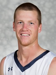 Connor Scott, a senior, is a two-sport athlete at Cedarville, playing both soccer and basketball.