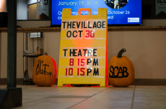 "The second ALT Night of the school year, organized by SCAB and Student Life Programs, was held Oct. 30 and included food trucks, pumpkin carving, corn-hole tournaments, fire pits for roasting marshmallows and multiple showings of ""The Village."""