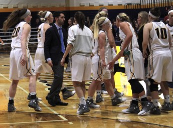 The Lady Jackets earned their first win of the season at home against Cincinnati Christian (Photo: Christian Cortes).