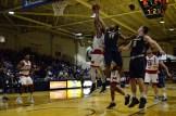 Dazhonetae Bennett steals the ball mid-air from opposing team.(Photo: Allyson Weislogel)