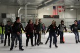 Students had a great time on the ice.