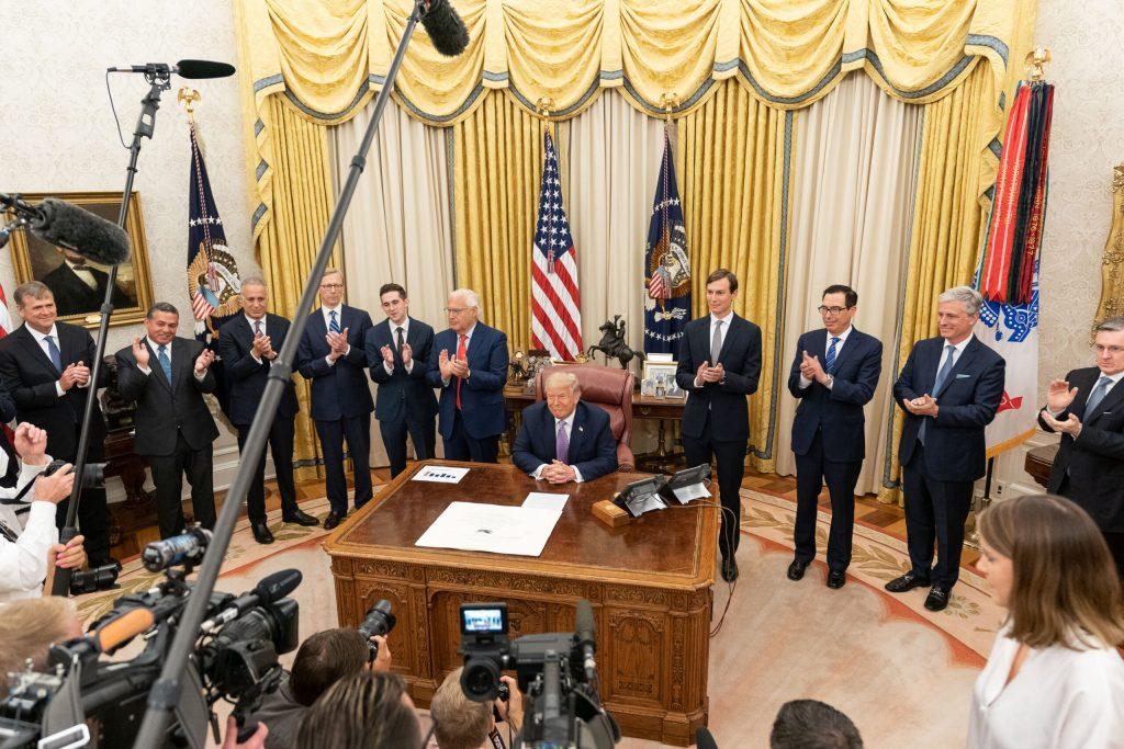 UAE Recognizes Israel As Nation Through President Trump's Peace Treaty