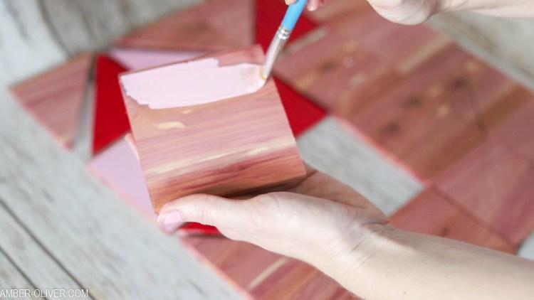 diy cedar barn quilt paint