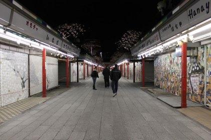 Nakamisedori by night