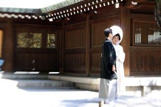 Modern (white) wedding kimono