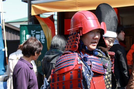 Kamakura is known as a samurai town, and this is reflected in the festivals
