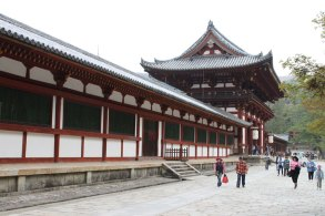 Entrance to Todaiji temple