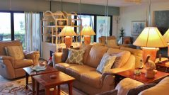 LivingRoomD-103 Longboat Key Vacation Rental