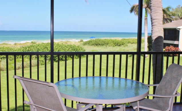 Longboat Key Vacation Rentals D-202 Lanai View