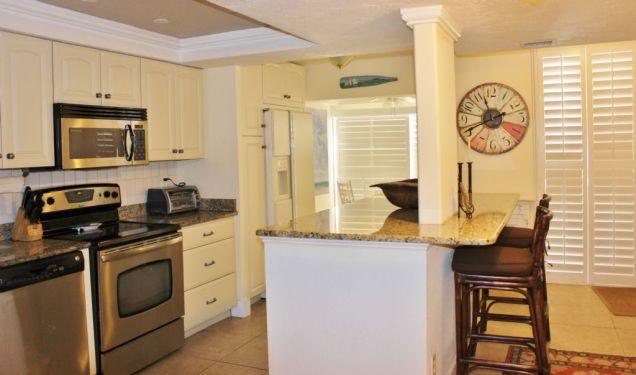 b-103 kitchen longboat key featured condo rental