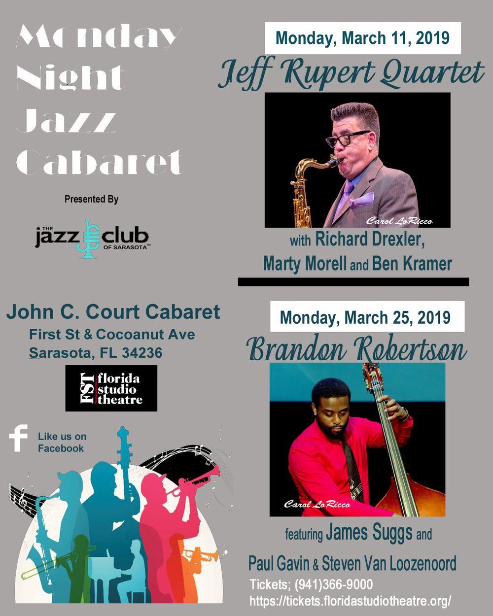 monday nite jazz club sarasota events