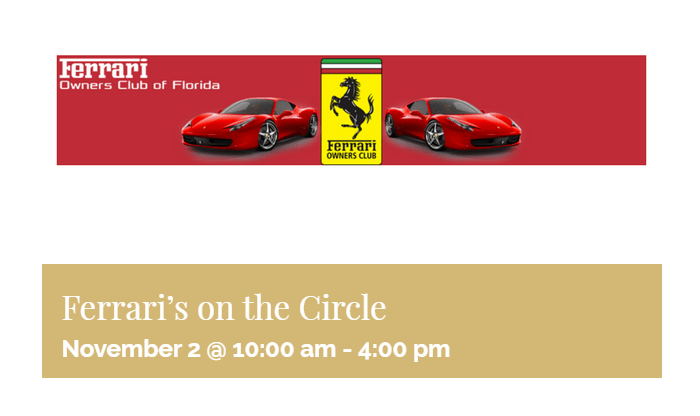 st armands circle events
