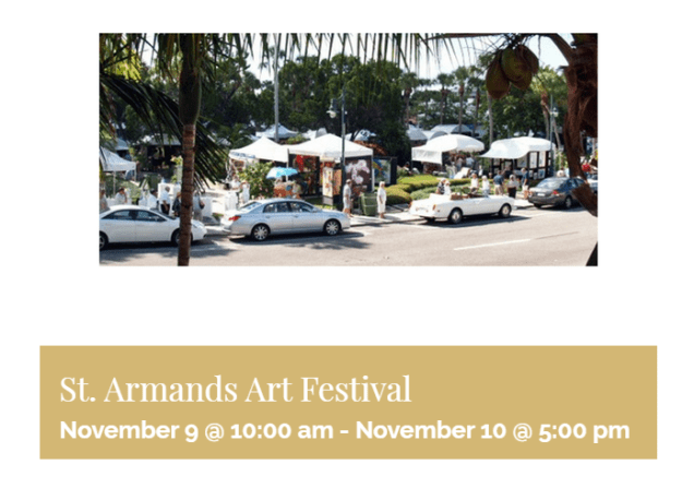 st. armands art festival