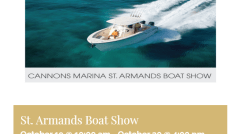 st armands circle boat show